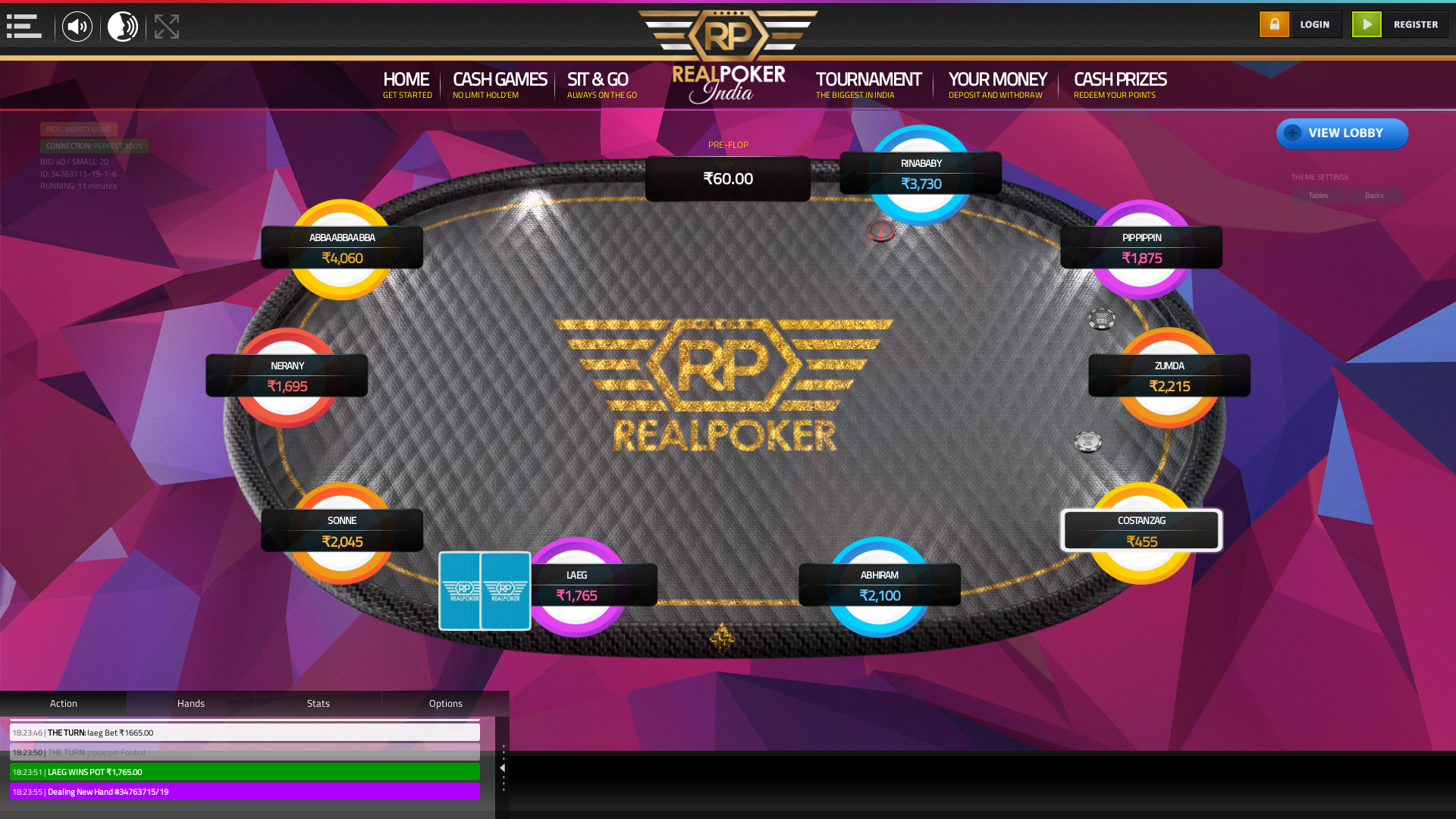 Gurgaon Poker Casino 10 Player