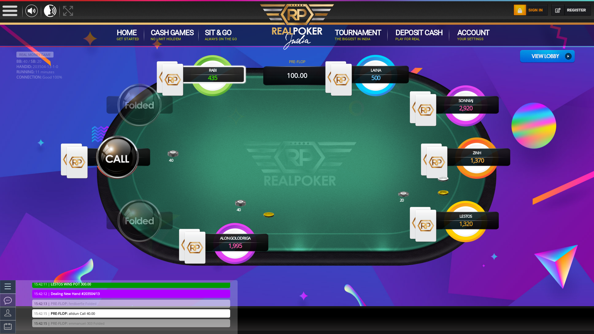 10 player poker in the 11th minute